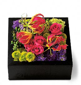 Pavé Texture Square Flowers, Pavé Texture Square Flower Bouquet - Teleflora.com :  pave jewels pave bouquet square