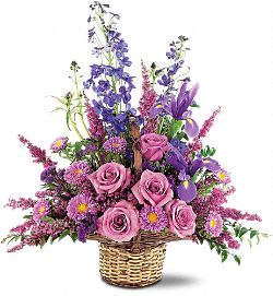 Gentle Comfort Basket Flowers