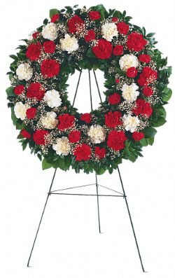 Hope and Honor Wreath Flowers