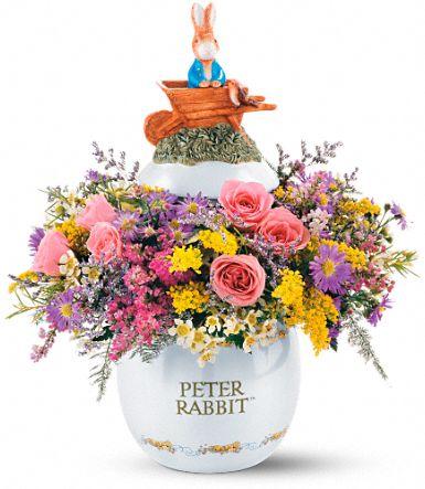 Peter Rabbit™ Easter Egg Bouquet