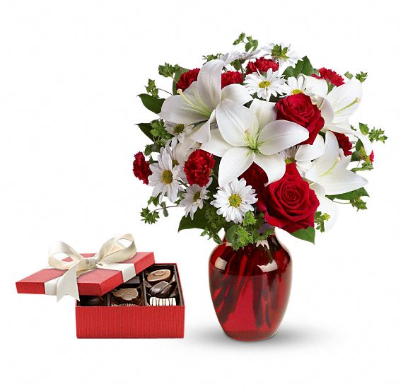 Be My Love Gift Set Flowers