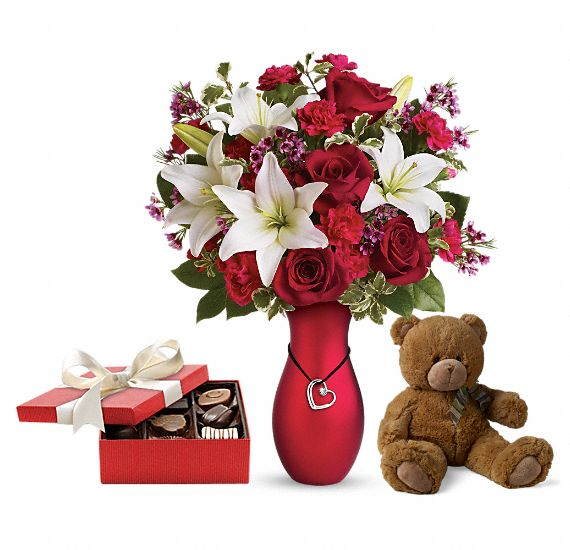 Heartstrings Gift Set 2 Flowers