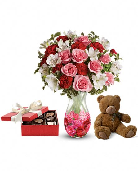 Rosy Posy Gift Set 2 Flowers