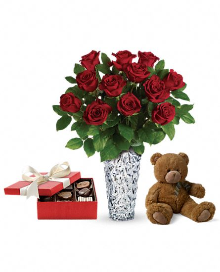 Sparkling Beauty Gift Set 2 Flowers