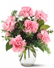 Teleflora's Pink Notion Vase Flowers