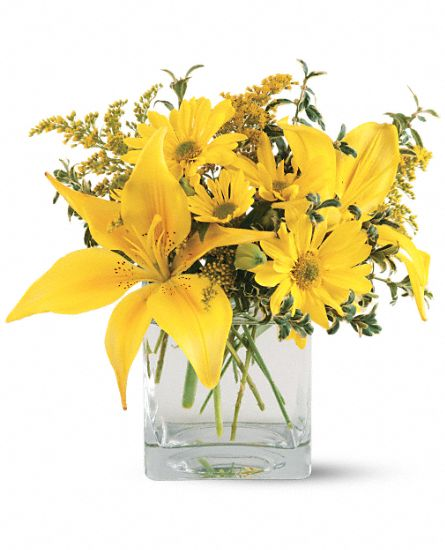 Teleflora's Clear Day Bouquet Flowers