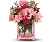 Teleflora's Pink Dawn Bouquet in Mobile AL, Zimlich Brothers Florist & Greenhouse
