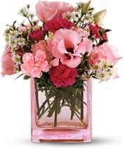 Telefloras Pink Dawn Mothers Day Flower Bouquet