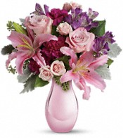 Enchanting Pinks by Teleflora Flowers