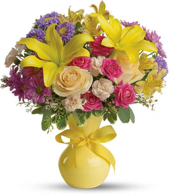 Teleflora's Color It Happy Flowers