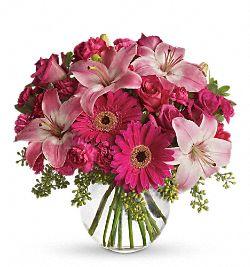 Bouquet Rose comme un bonbon
