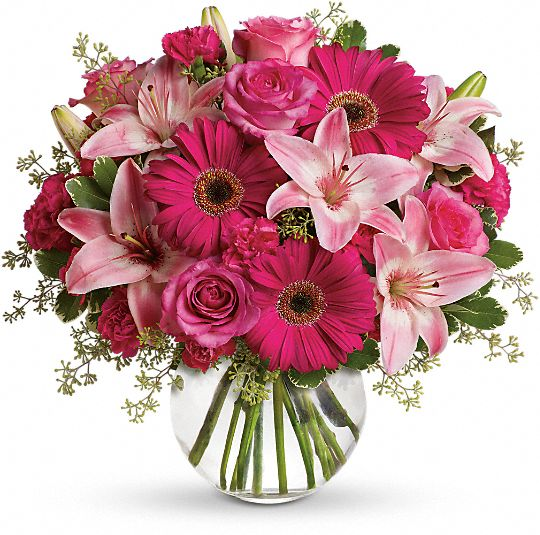 A Little Pink Me Up Flowers