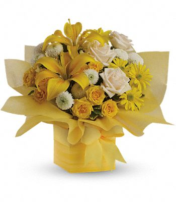Teleflora's Sunshine Surprise Flowers