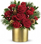 Teleflora's Holiday Elegance Flowers