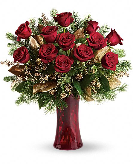 A Christmas Dozen Flowers