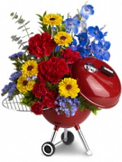 WEBER® King of the Grill by Teleflora Flowers