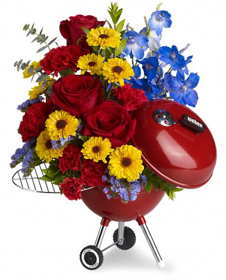WEBER King of the Grill by Teleflora Flowers
