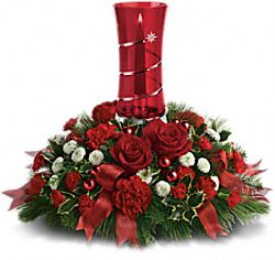 Teleflora's Star Bright Centerpiece Flowers