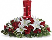 Teleflora's Wondrous Night Centerpiece Flowers