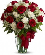 Love's Divine Bouquet - Long Stemmed Roses Flowers