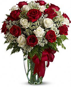 Bouquet de fleurs Amour divin - Roses à longue tige