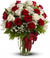 Love's Divine Bouquet - Long Stemmed Roses - Deluxe