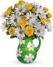 Teleflora's Happy Daisies Bouquet Flowers