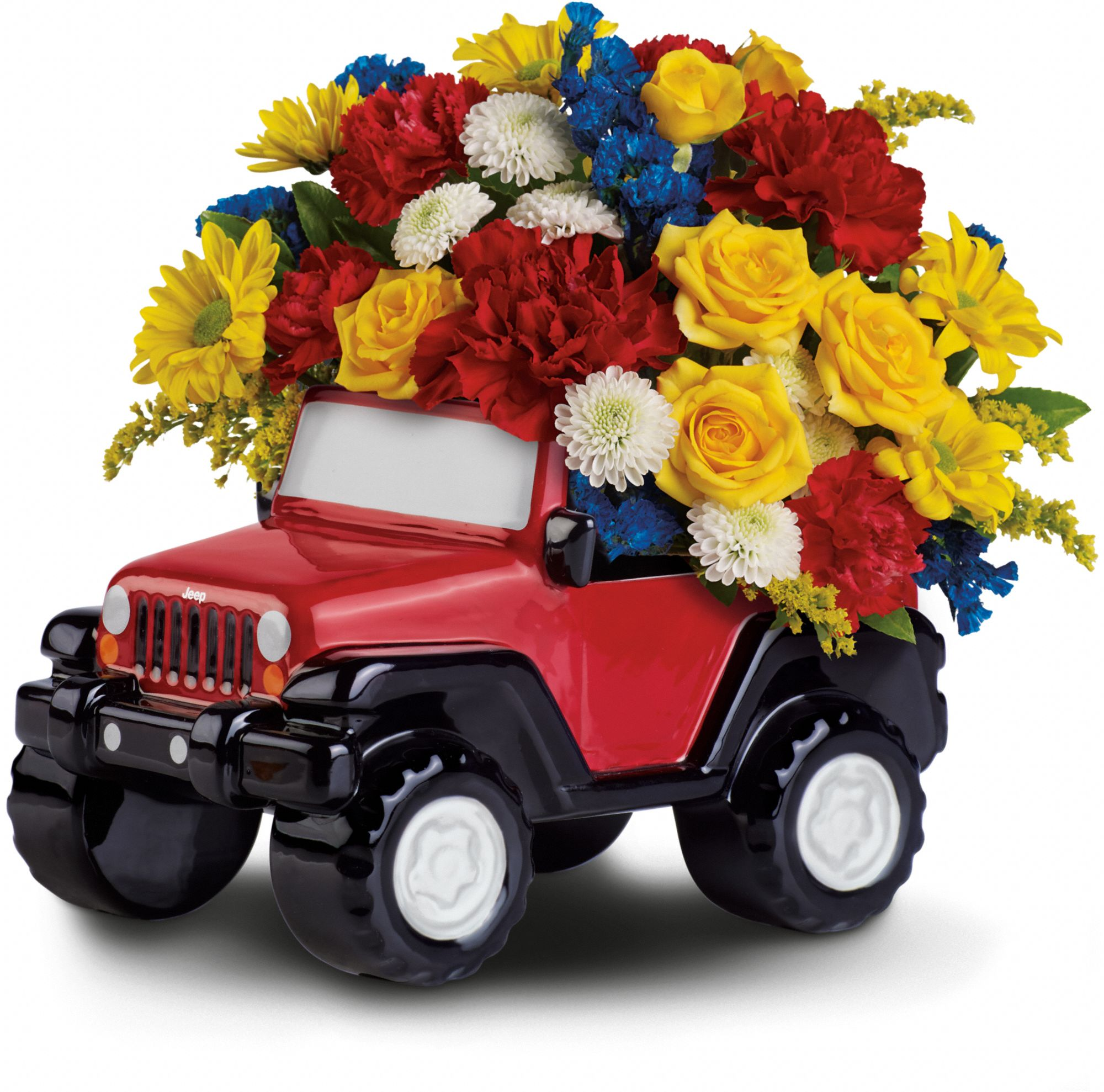 Jeep® Wrangler King of the Road by Teleflora Flowers
