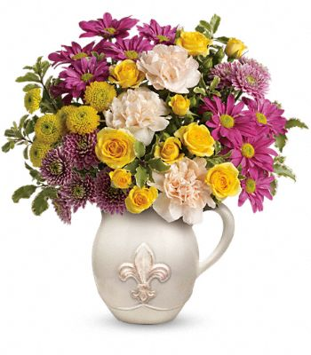 Teleflora's French Fancy Bouquet Flowers