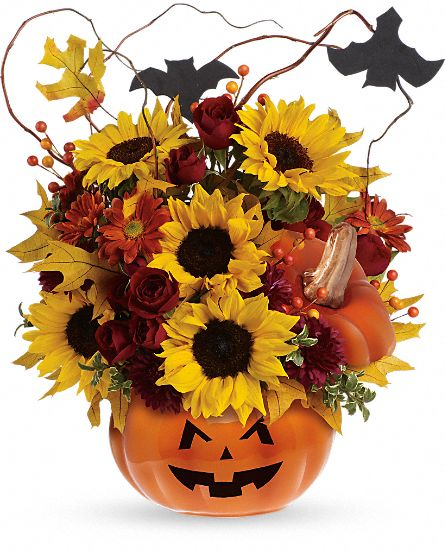 Teleflora's Trick & Treat Bouquet Flowers