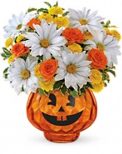 Happy Halloween by Teleflora Flowers