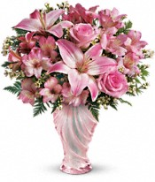 Teleflora's Charm & Grace Bouquet Flowers