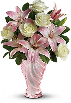 Teleflora's Blissful Blooms Bouquet Flowers