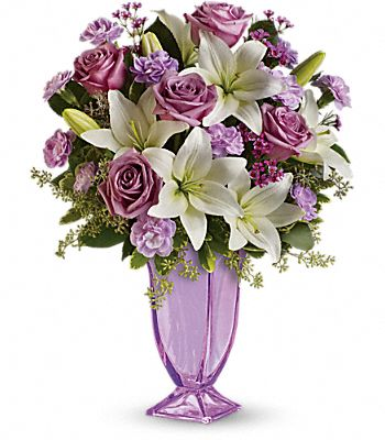 Teleflora's Lavender Love Bouquet Flowers