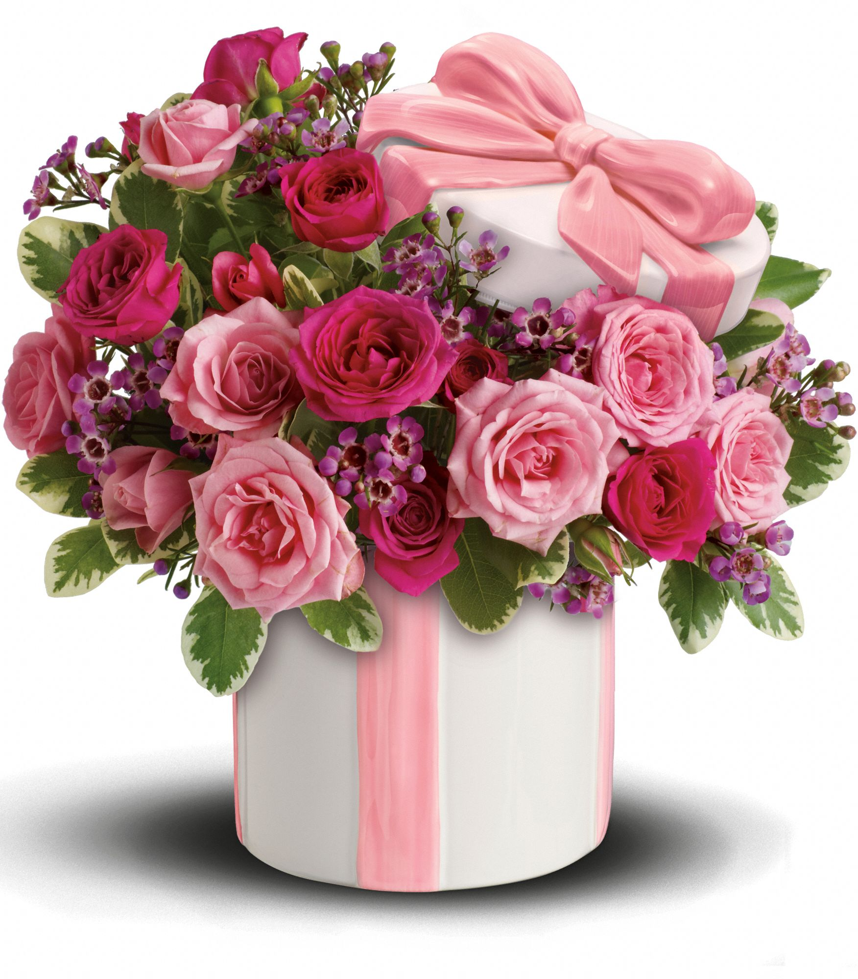 Teleflora's Hats Off to Mom Bouquet Flowers