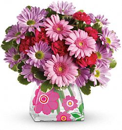 Teleflora's Perfect in Pink Bouquet Flowers
