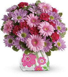 Perfect in Pink Bouquet Flowers