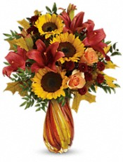 Teleflora's Autumn Beauty Bouquet Flowers