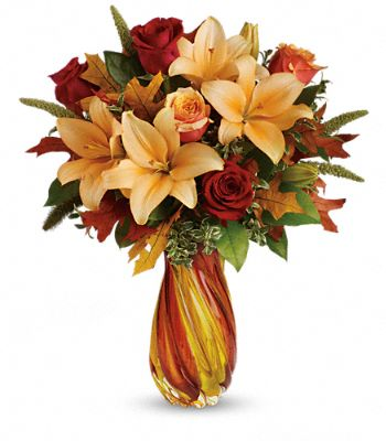 Teleflora's Treasures of Fall Bouquet Flowers