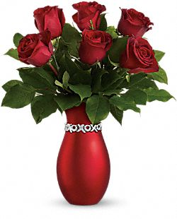 Teleflora's Endless Kisses - Long Stemmed Roses Flowers