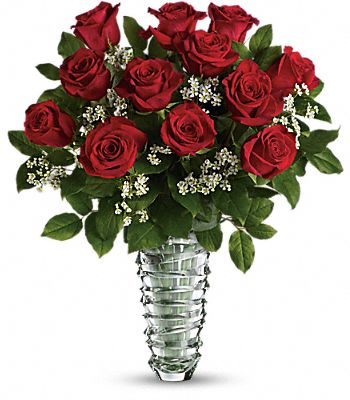 Teleflora's Beautiful Bouquet - Long Stemmed Roses Flowers