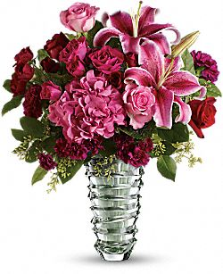 Teleflora's Swept Away - Long Stemmed Roses Flowers