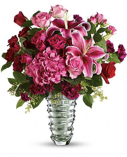 Teleflora's Swept Away - Long Stemmed Roses Flowers