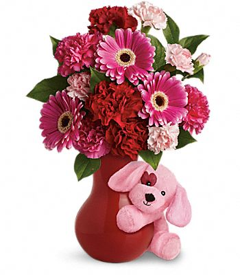 Teleflora's Send a Hug Sweetheart Flowers