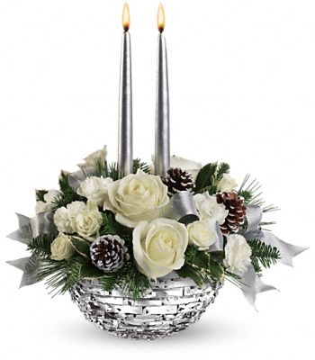 Teleflora's Splendid New Year Centerpiece Flowers