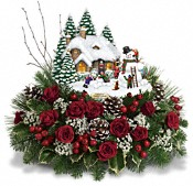 Thomas Kinkade's Winter Wonder by Teleflora Flowers