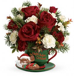 Teleflora's Send a Hug Waiting For Santa Flowers