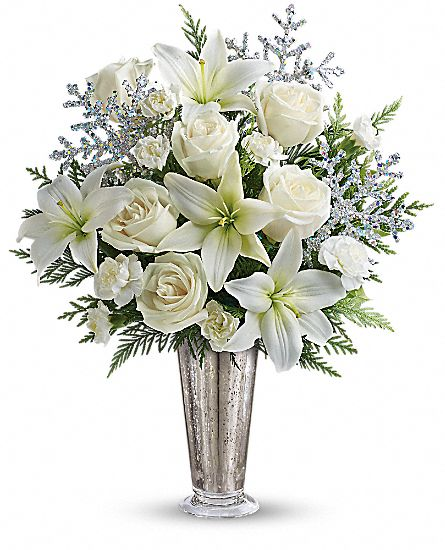 Teleflora's Winter Glow Flowers