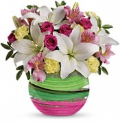 Teleflora's Paint It Pastel Bouquet Flowers