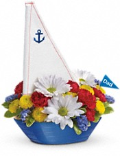 Teleflora's Anchors Aweigh Bouquet Flowers